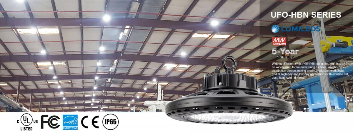 led high bay ufo weshine