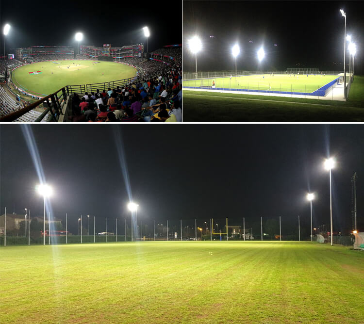 led stadium light project