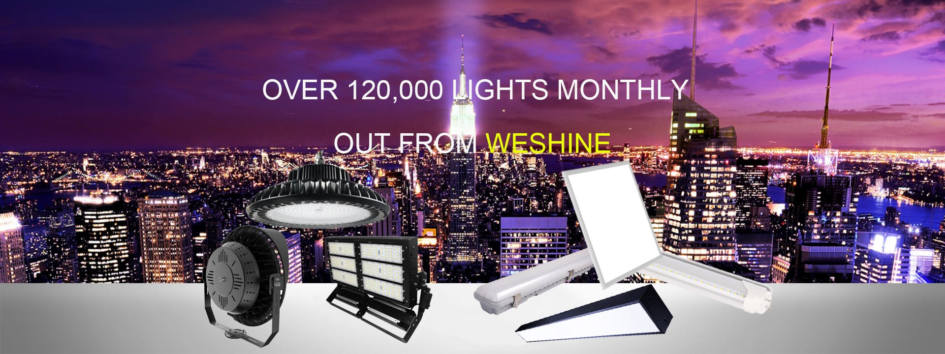 weshine led lighting products