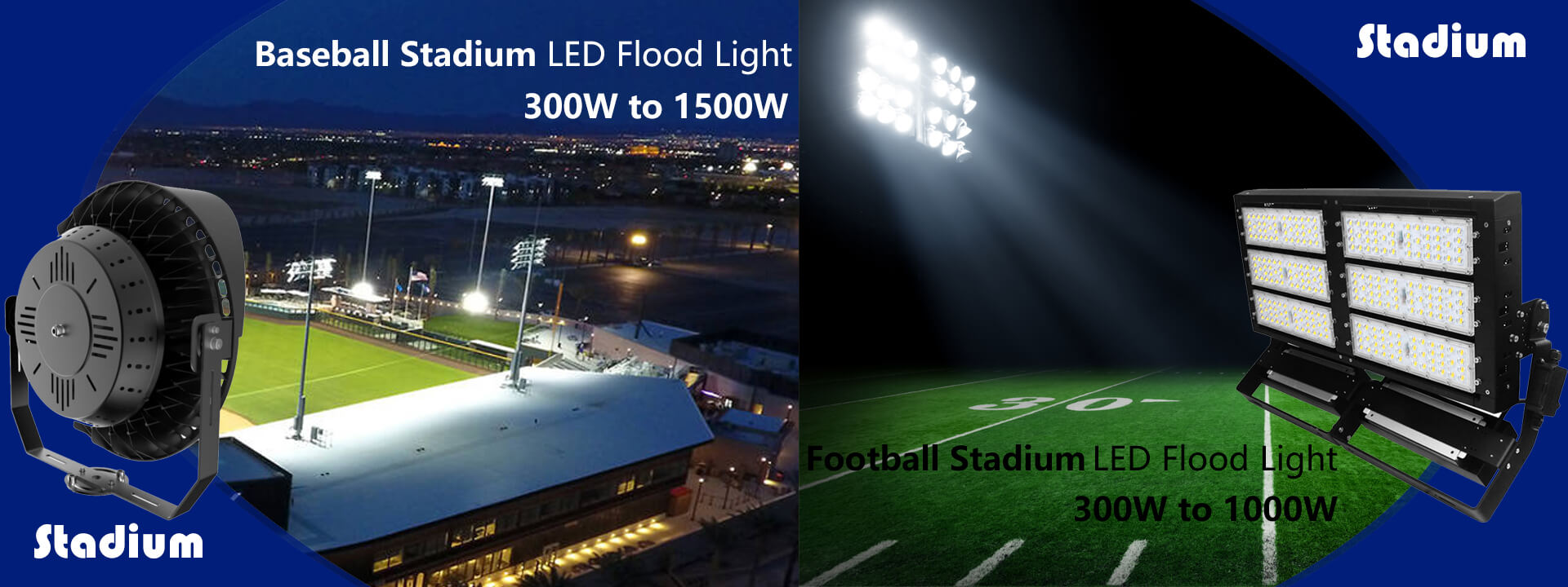 weshine led stadium lights